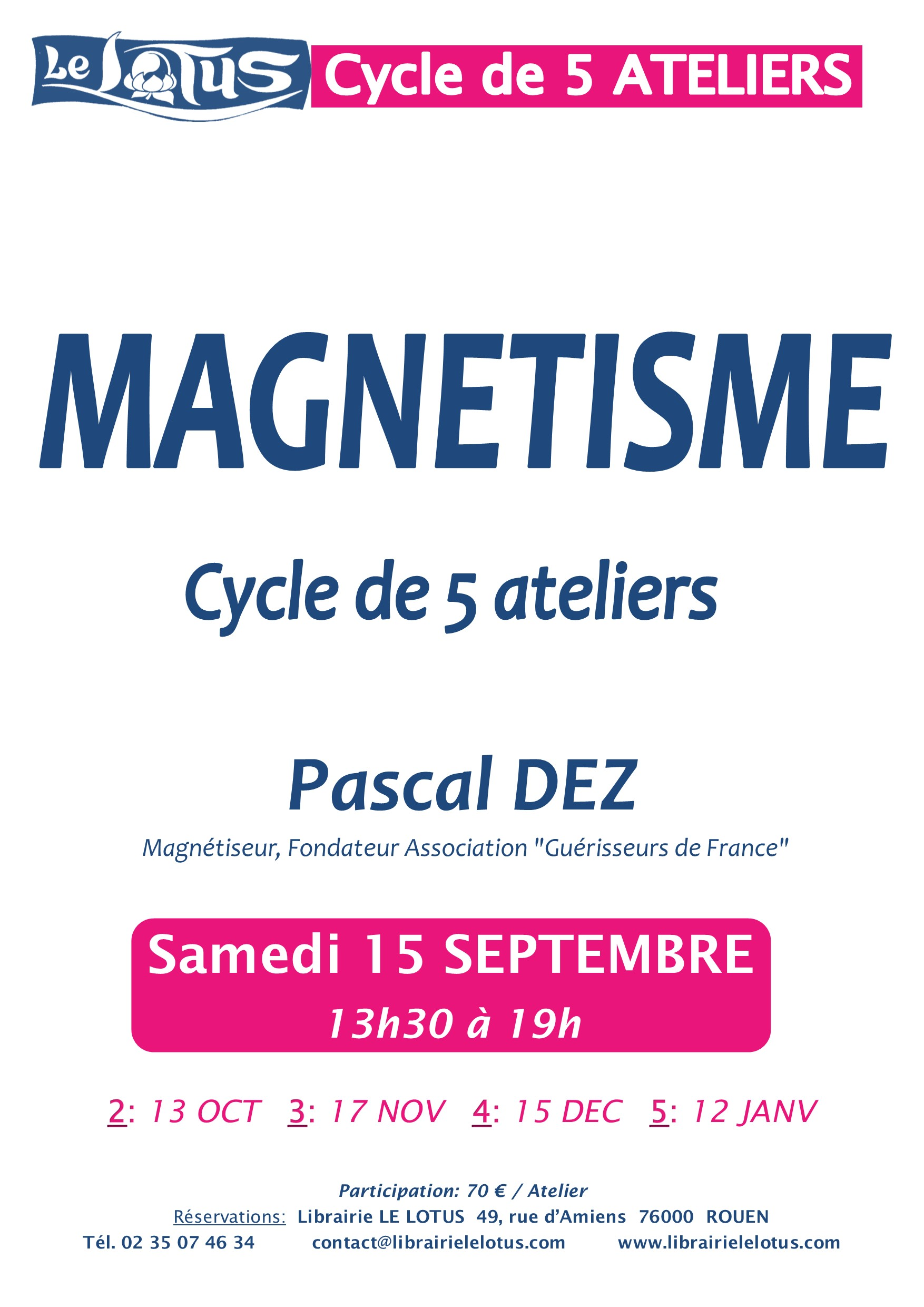 CYCLE  5 ATELIERS - MAGNETISME