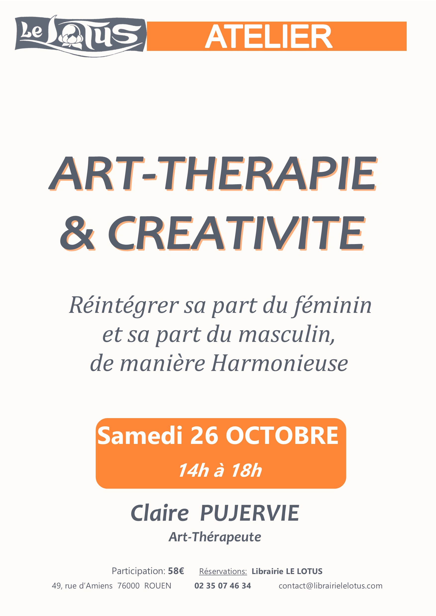 ATELIER - ART-THERAPIE & CREATIVITE